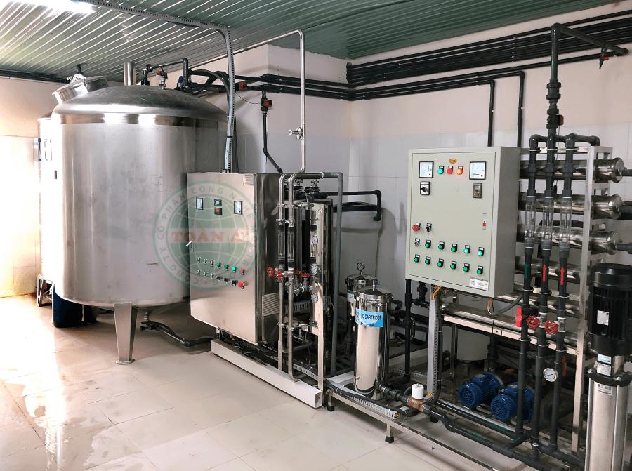 Hệ thống máy lọc nước cho bệnh viện, phòng khám