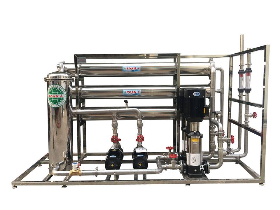 Hệ thống lọc nước RO công suất 6M3/H cho biệt thự Thái Bình