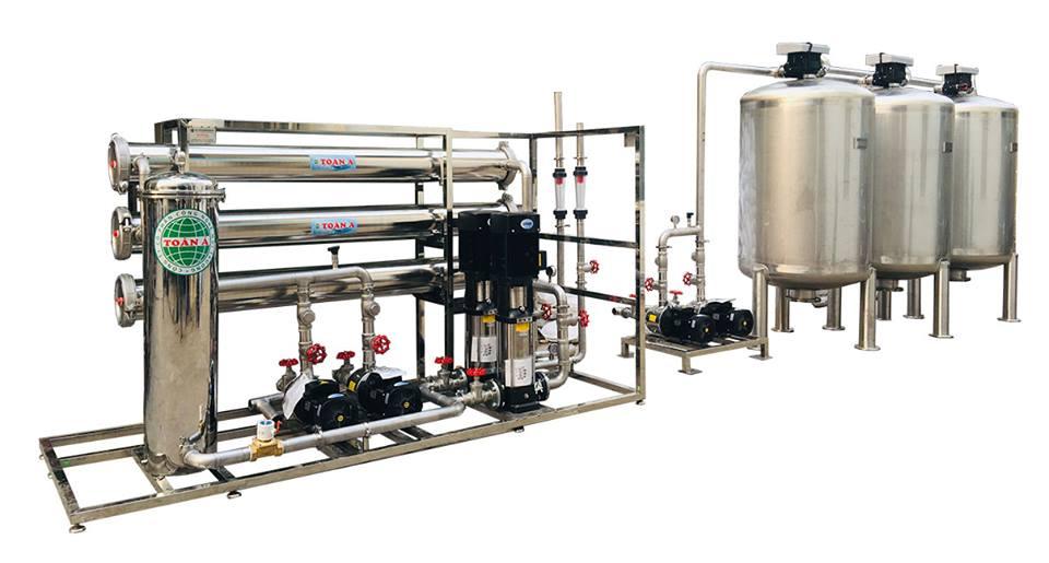 Hệ thống lọc nước RO công suất 6m3/h