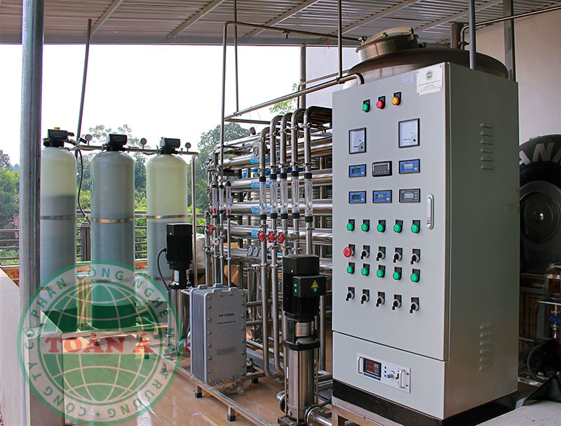 Hệ thống EDI tiêu chuẩn, 2 cấp lọc 1.000 L/H