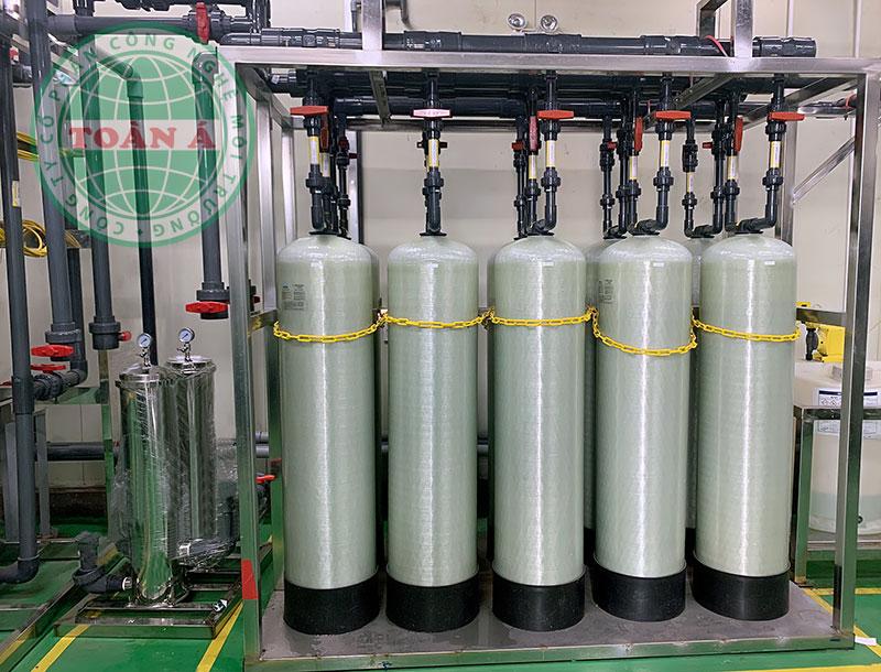 Hệ thống xử lý nước DI cho bán dẫn công suất 80m3/h