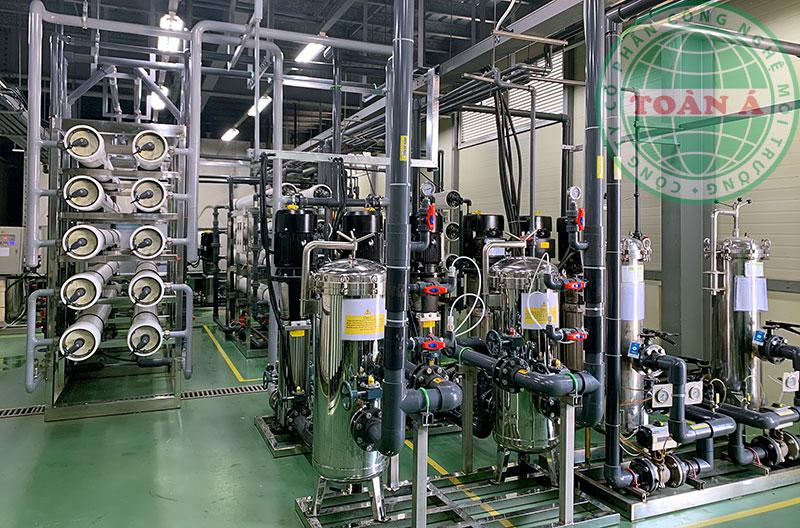 Hệ thống xử lý nước EDI ngành điện tử