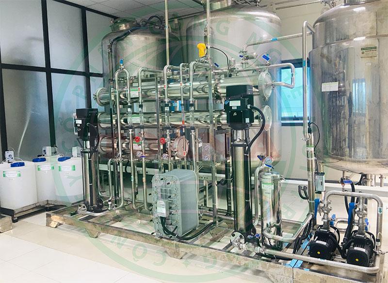 Hệ thống xử lý nước EDI ngành dược phẩm