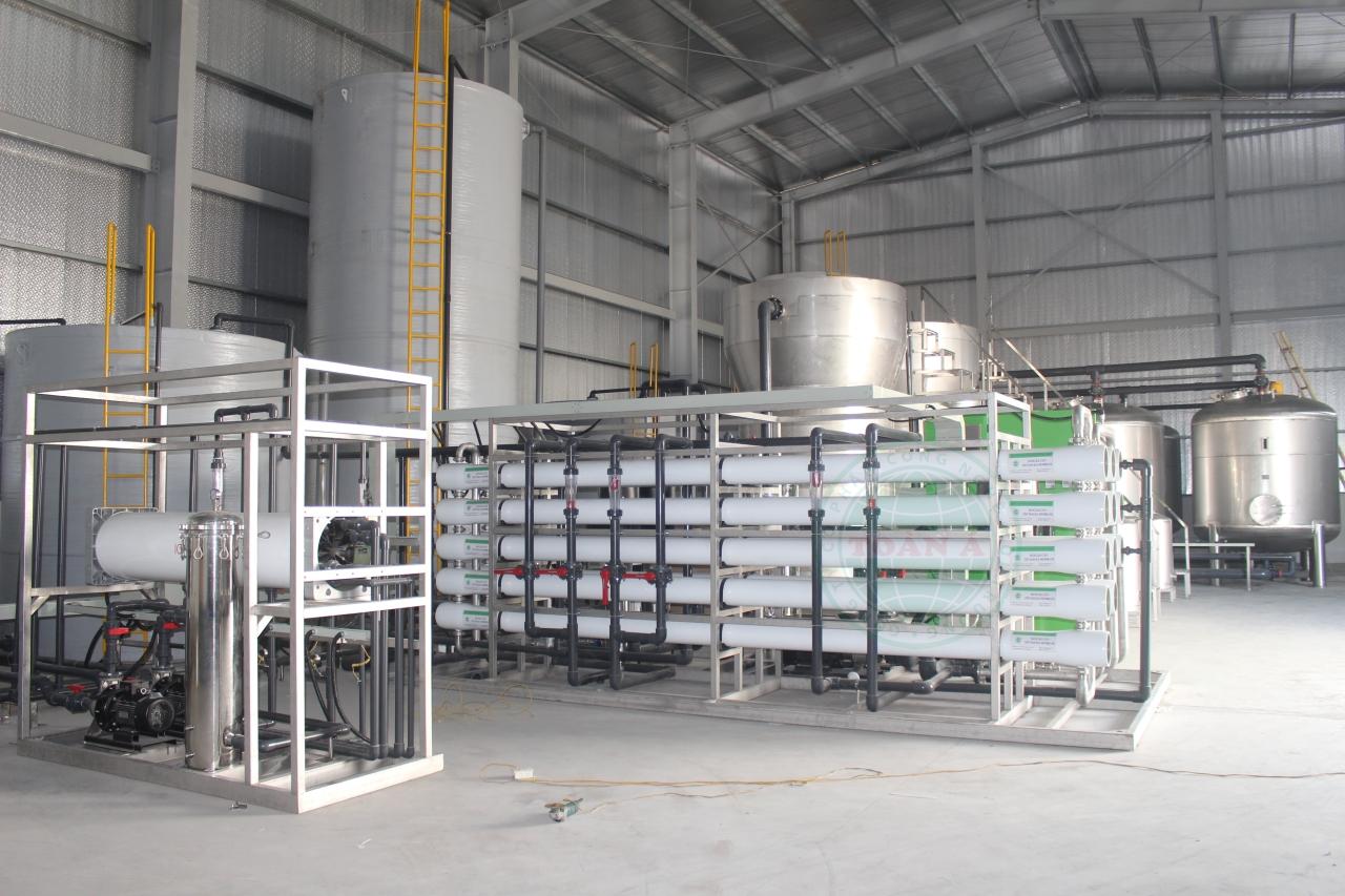 Hệ thống xử lý nước RO cho ngành công nghiệp giặt ủi
