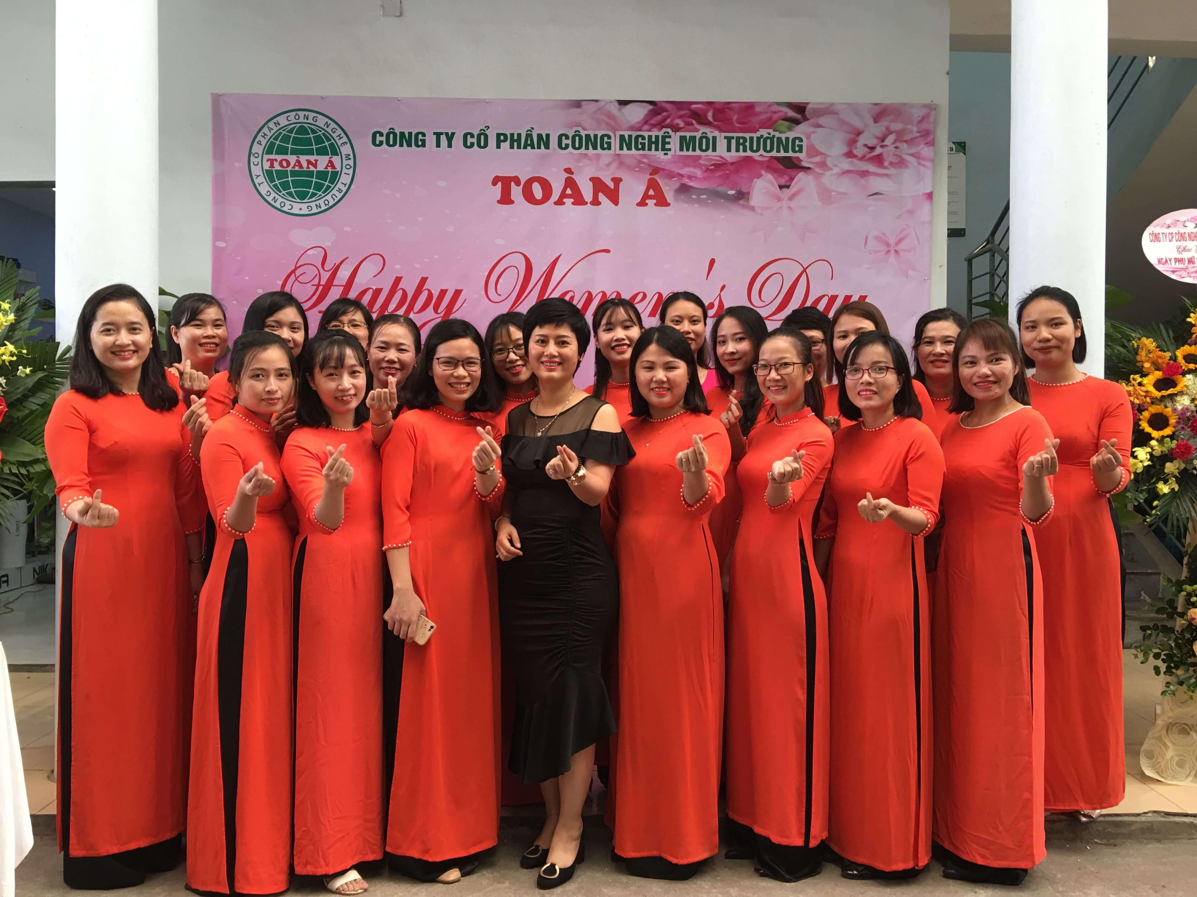 Toàn Á chào mừng ngày phụ nữ Việt Nam 20-10