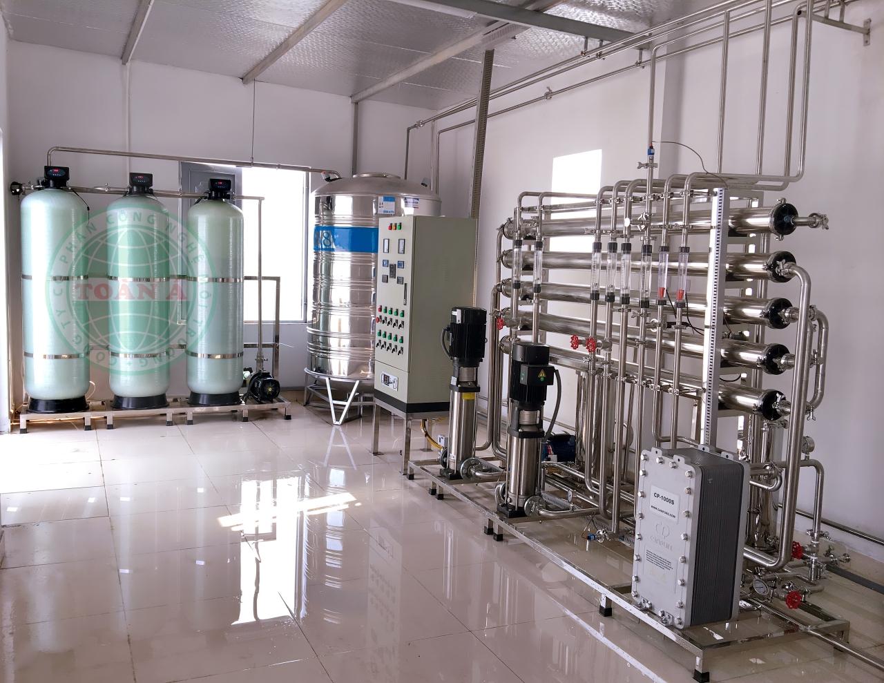 hệ thống xử lý nước ro dùng trong dược phẩm mỹ phẩm