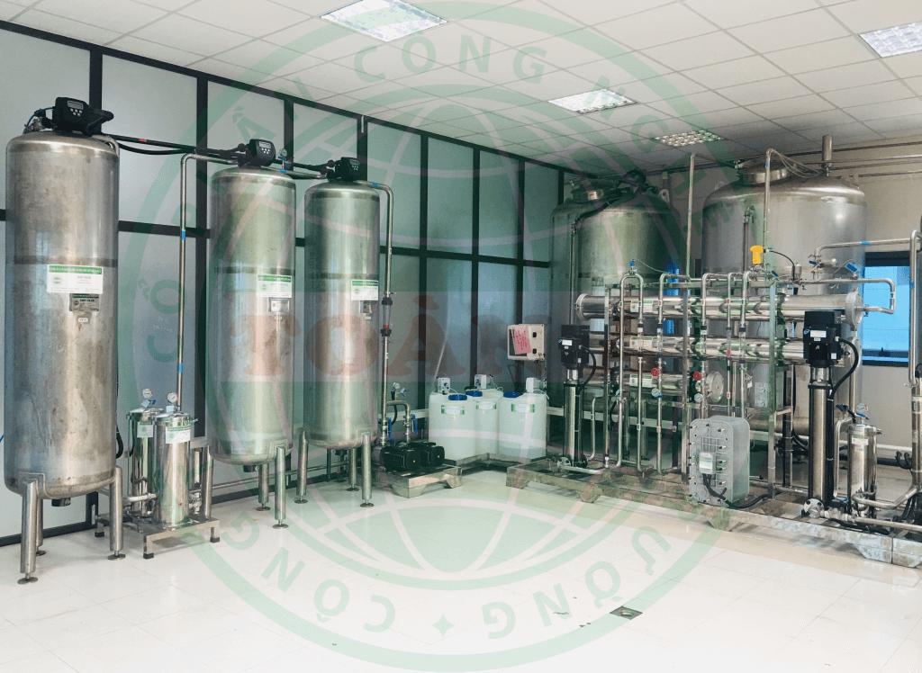 Hệ thống xử lý nước dược phẩm 2 mét khối