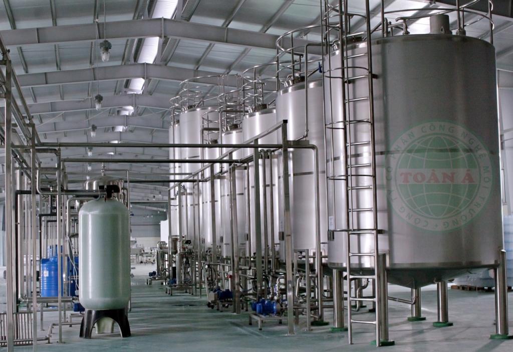 hệ thống xử lý nước khoảng Oris Tiền Hải