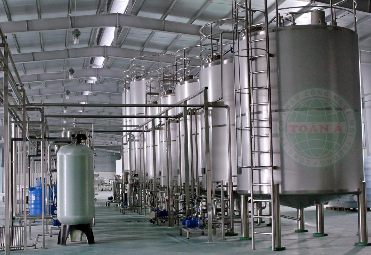 Hệ thống xử lý nước khoáng Oris 12m3/h Tiền Hải, Thái Bình