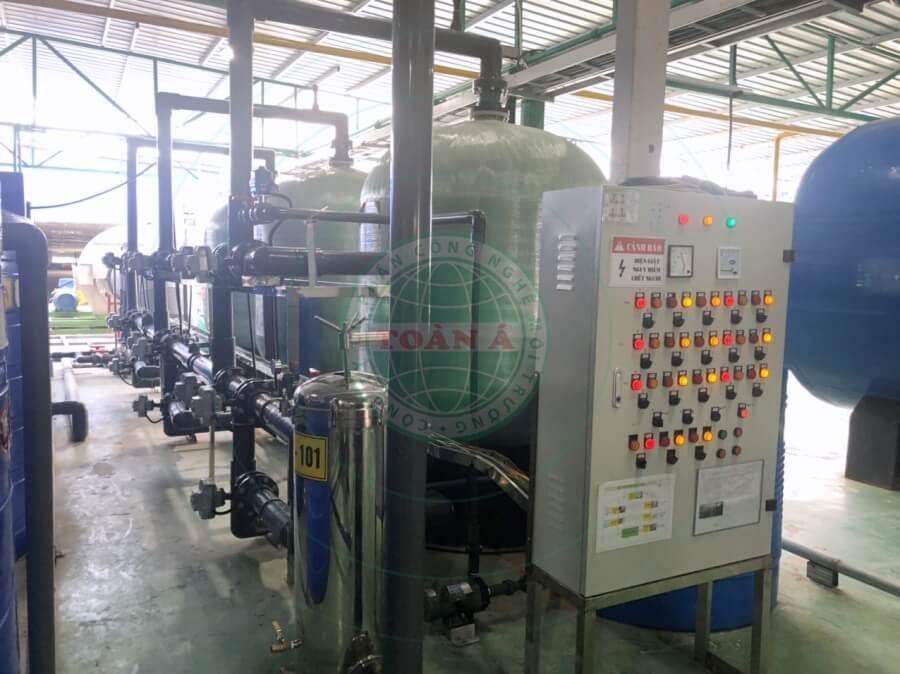Hệ thống xử lý nước RO 30m3/h