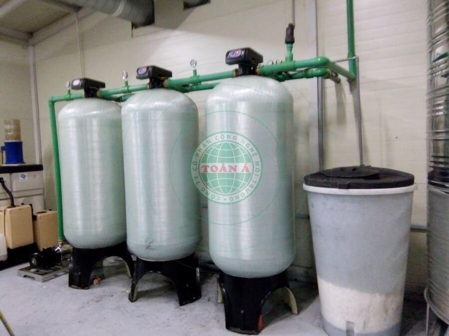 Hệ thống xử lý nước RO 5m3/h sản xuất linh kiện điện tử