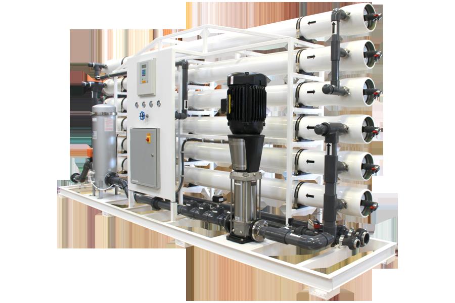 Hệ thống xử lý nước EDI ngành xi mạ