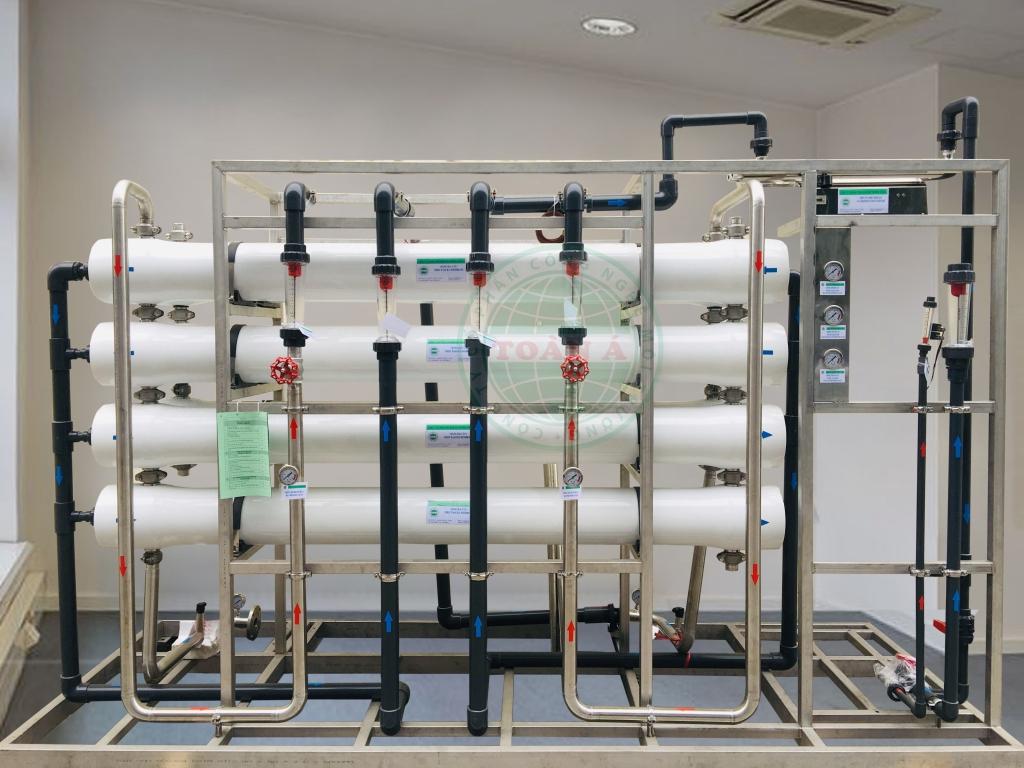 Hệ thống xử lý nước ion bằng RO 2 cấp