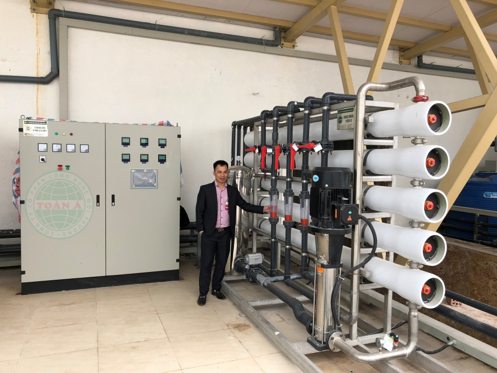 Lắp đặt hệ thống xử lý nước cho dự án Green Hòa bình Đà Nẵng 3