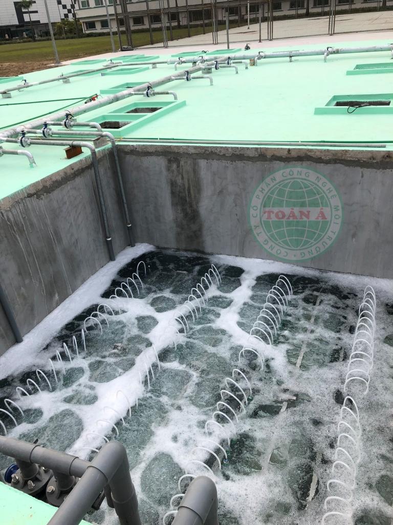 Hệ thống xử lý nước thải CTY MCNEX