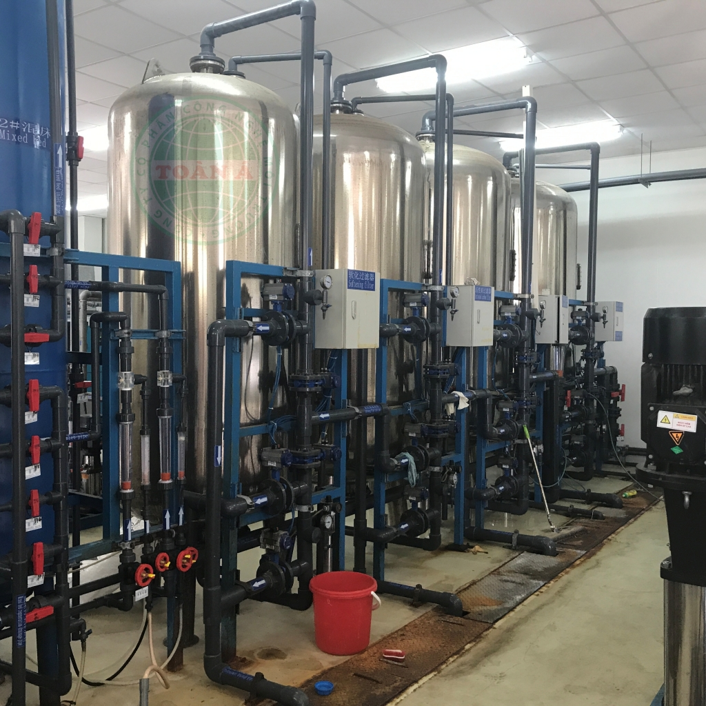 Hệ thống xử lý nước DI 12000L/h