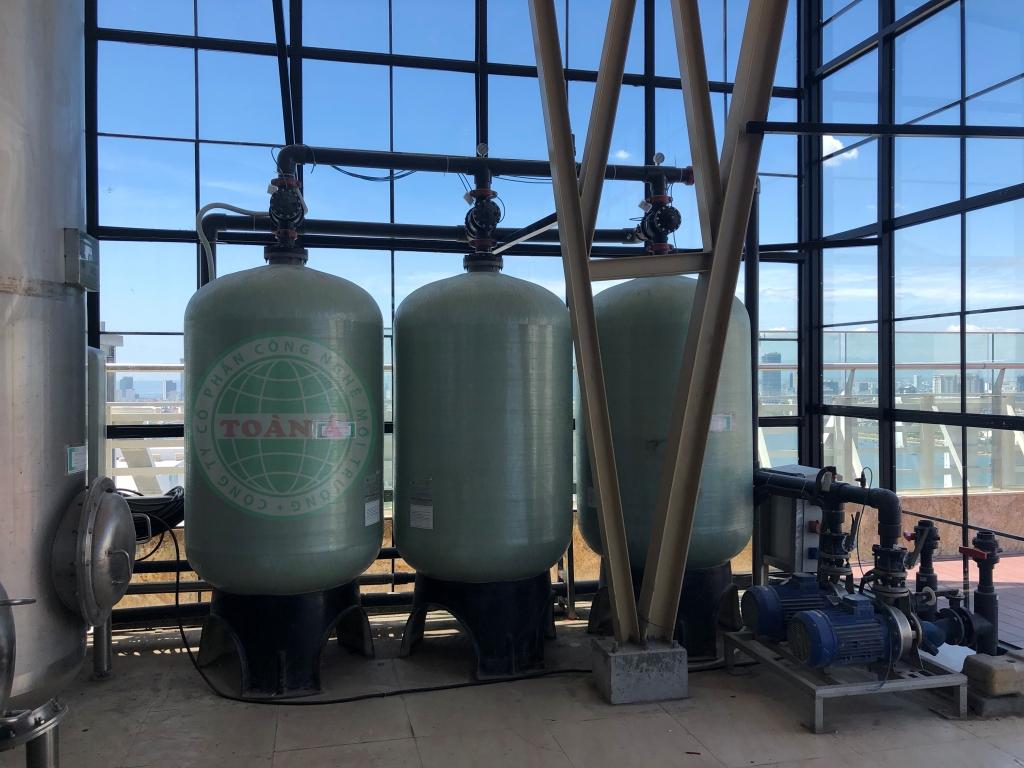 Lắp đặt hệ thống xử lý nước cho dự án Green Hòa bình Đà Nẵng 4