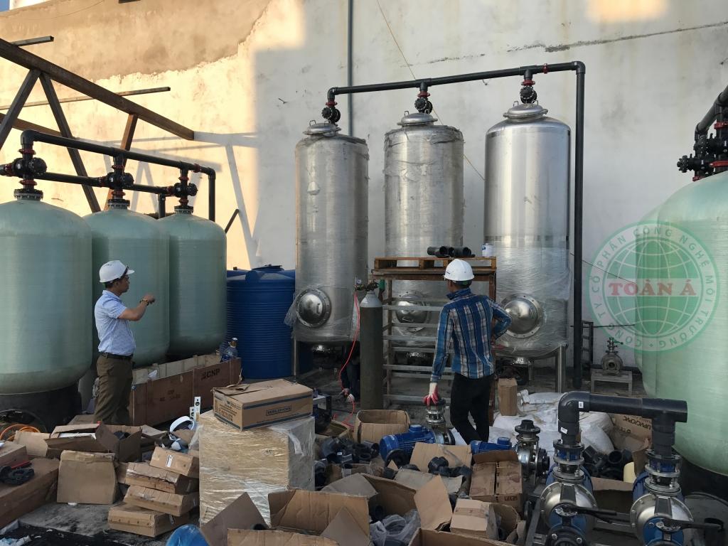 Lắp đặt hệ thống xử lý nước cho dự án Green Hòa bình Đà Nẵng 2