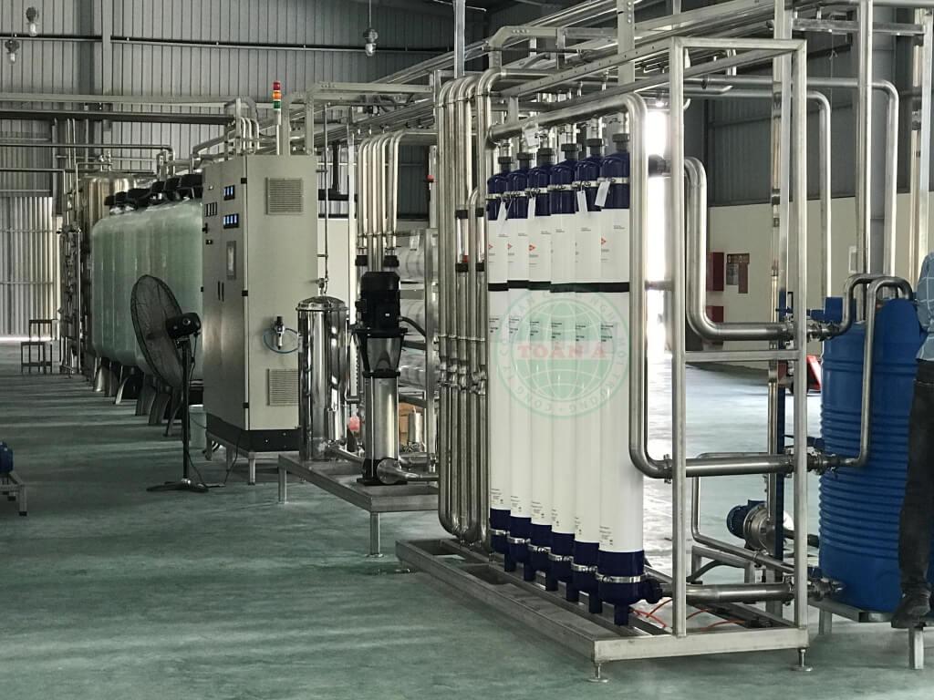 hệ thống xử lý nước khoảng