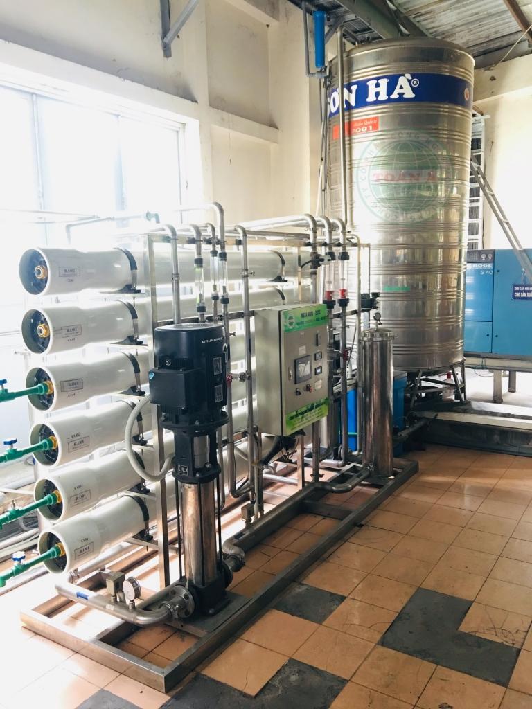 Hệ thống xử lý nước RO công suất 4m3/h 2