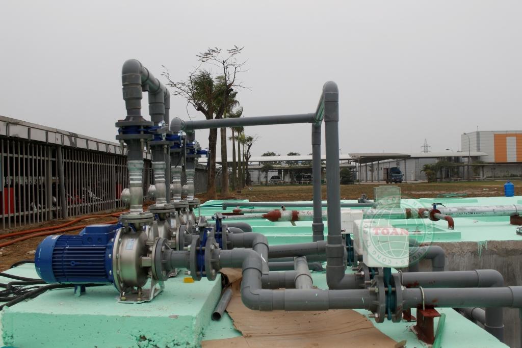 Hệ thống xử lý nước thải tại công ty MCNEX