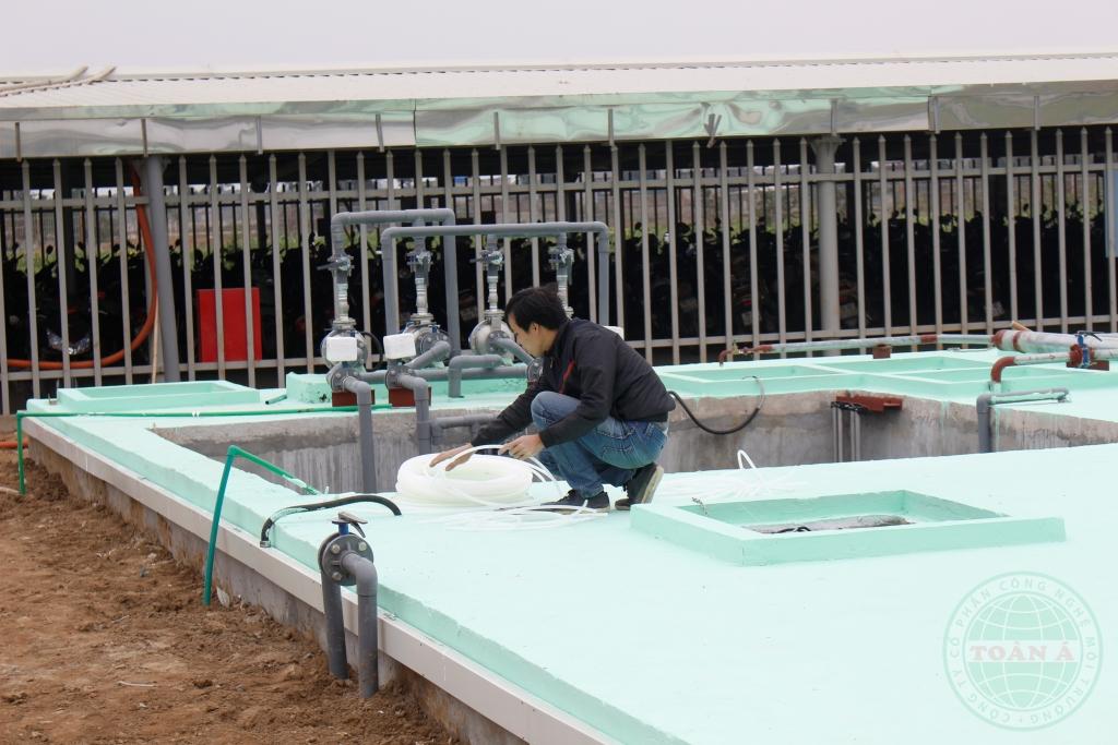 Hệ thống xử lý nước thải cho CÔNG TY MCNEX