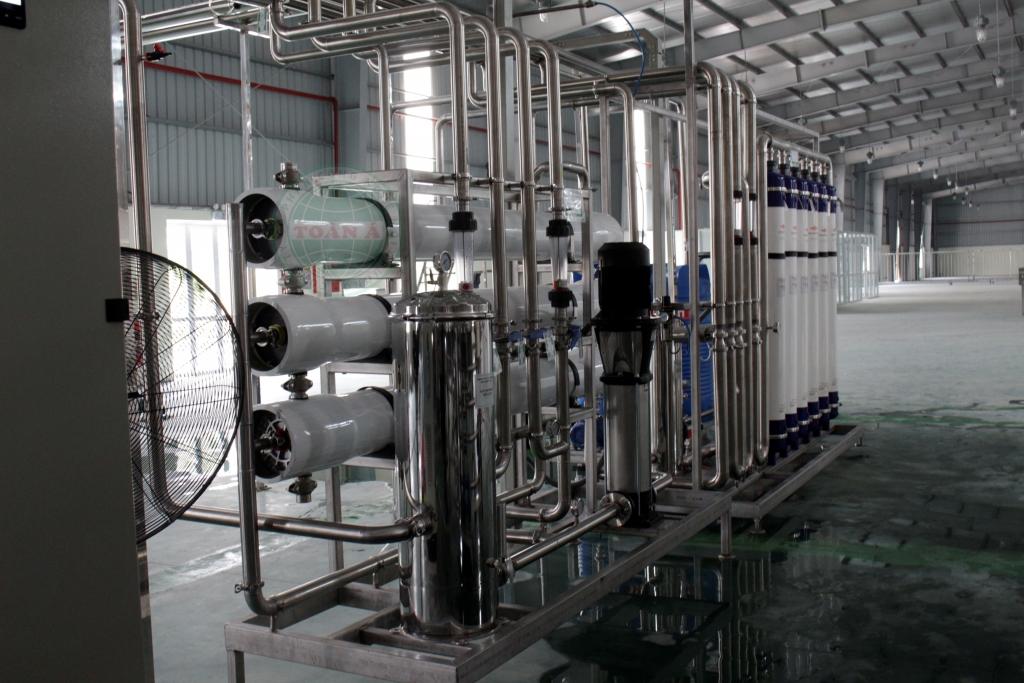 Hệ thống xử lý nước khoáng 12000L/h- Khoáng men Tiền Hải, Thái Bình