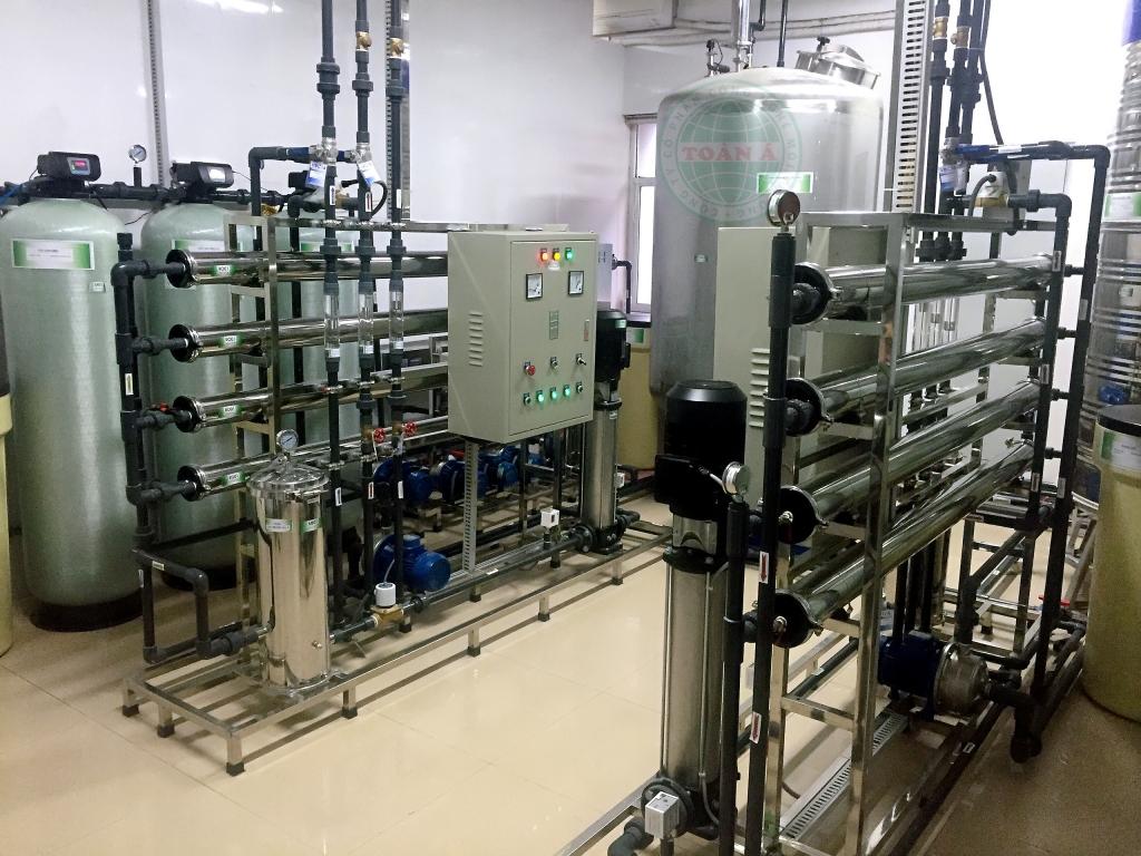Hệ thống xử lý nước 4000L/h-Bệnh viện Nội tiết