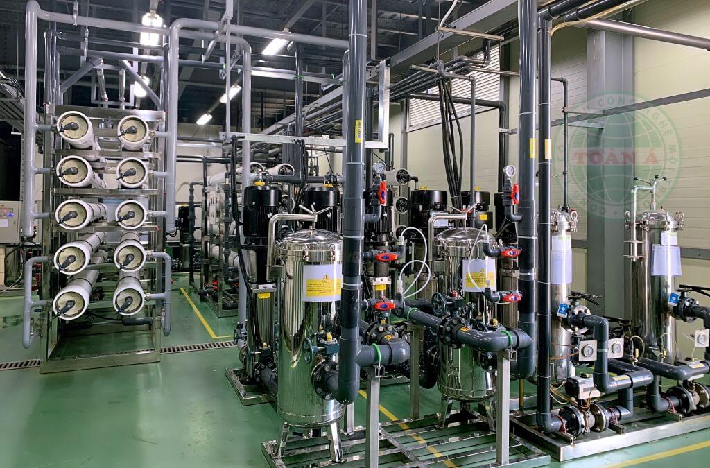 Hệ thống xử lý nước DI sản xuất chất bán dẫn