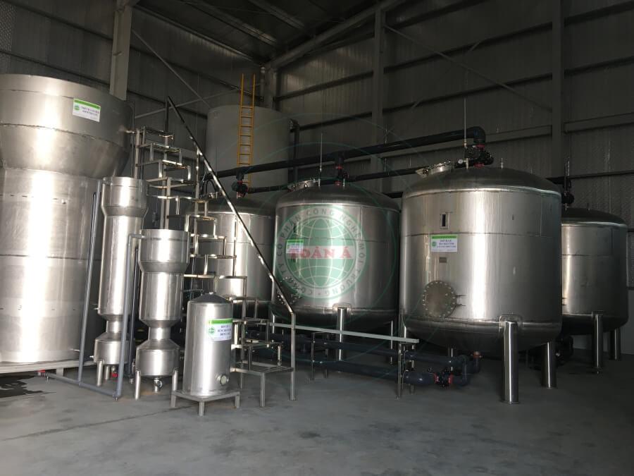 Xử lý nước DI- Ecotech Hưng Yên 45m3/h