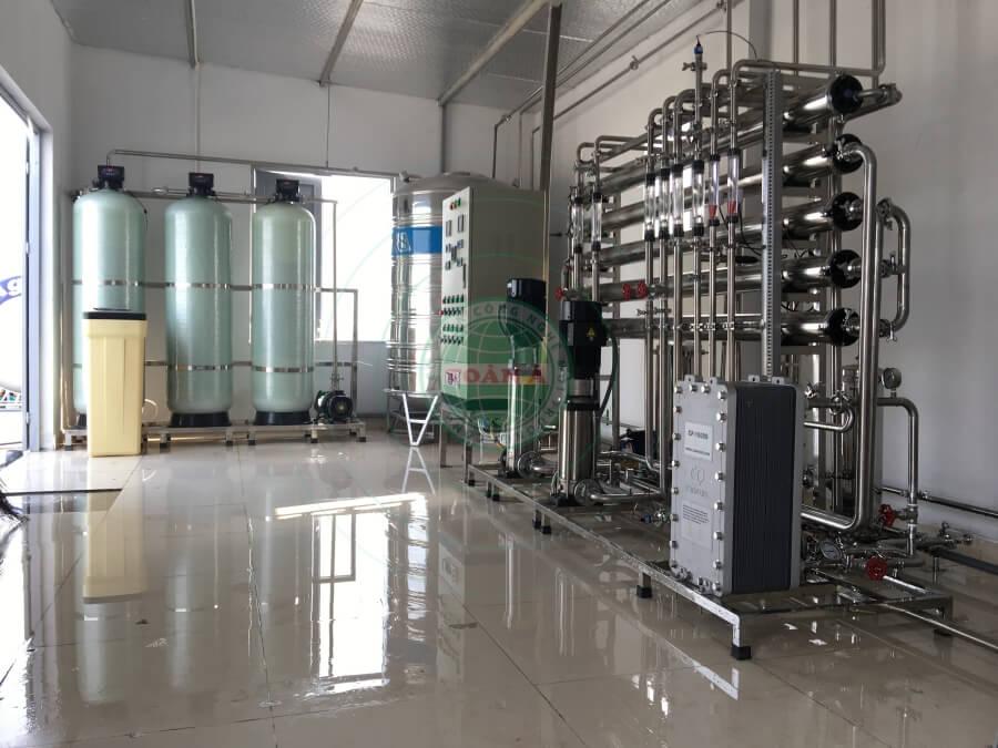 Hệ thống xử lý nước EDI cho Duoc Nano France 1000l.h