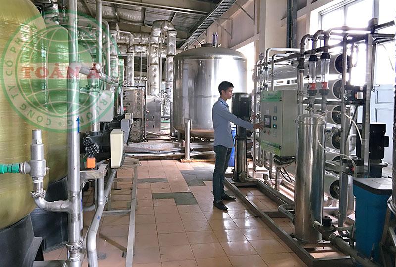 Hệ thống xử lý nước bằng RO cho Công ty Dược Traphaco