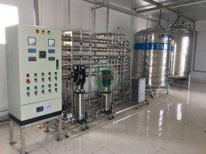 Hệ thống xử lý nước khử ion 1000L/h