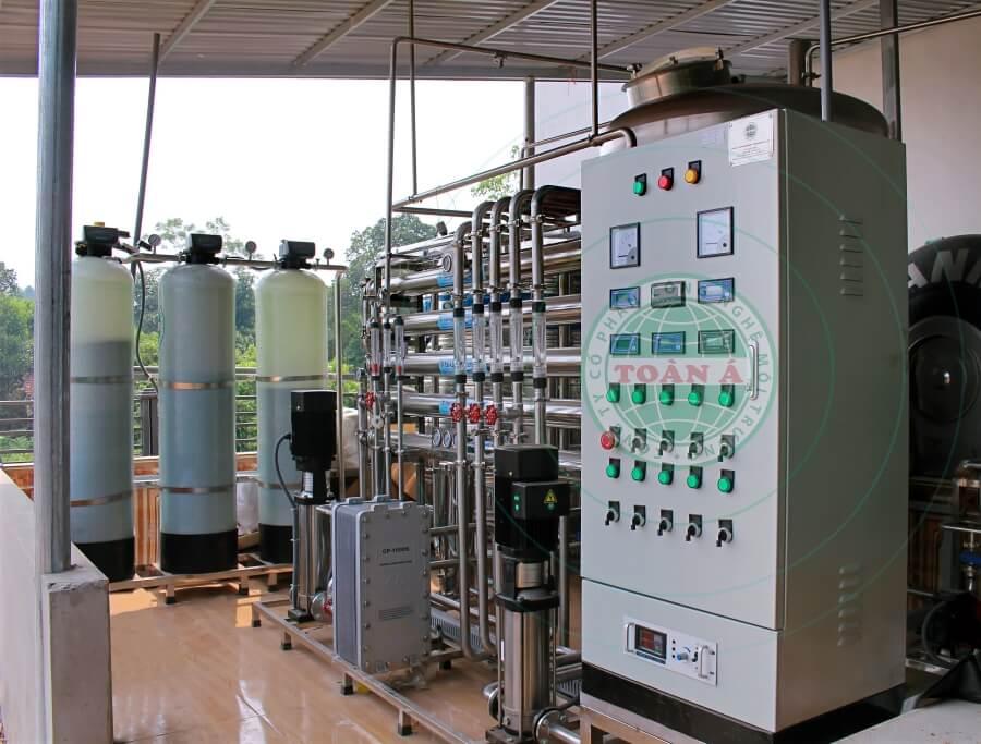 Hệ thống lọc nước EDI cho ngành dược phẩm 1000L/h