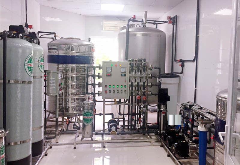 hệ thống máy lọc nước ro cho bệnh viện