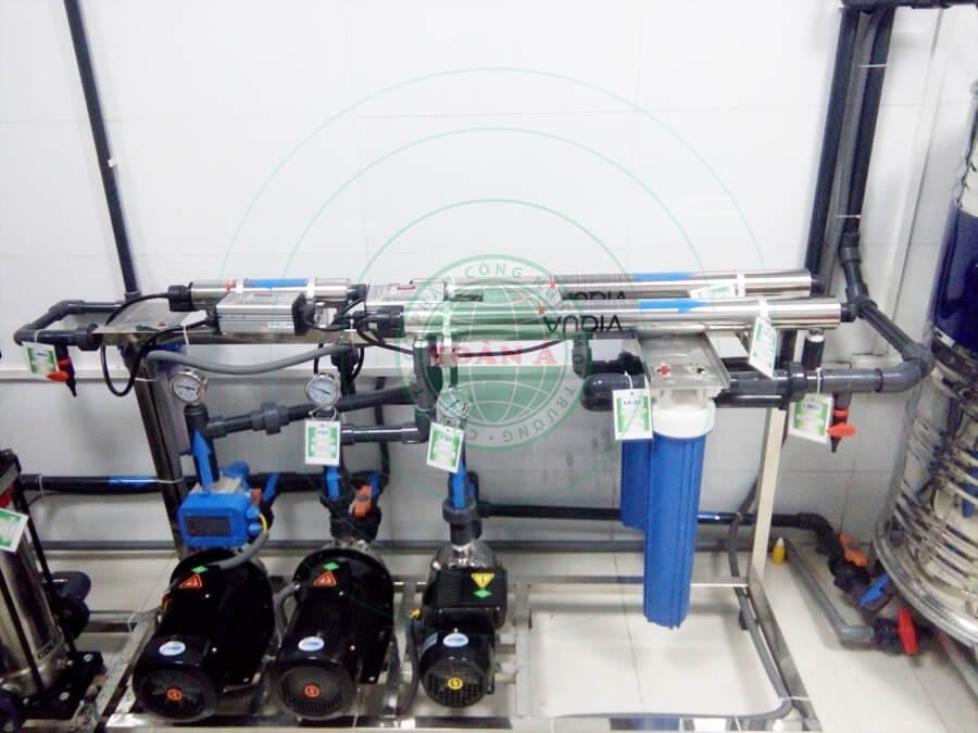 Hệ thống xử lý nước RO cho Bệnh viên Thanh Nhàn 1200L/h