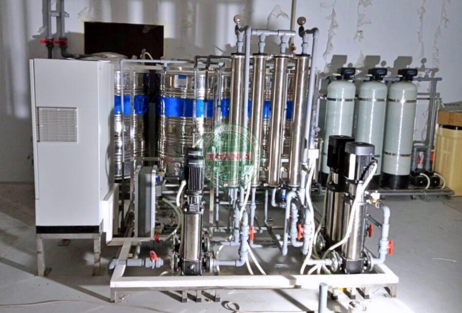 Hệ thống xử lý nước RO-DI 1000L/h Vsip Bac Ninh