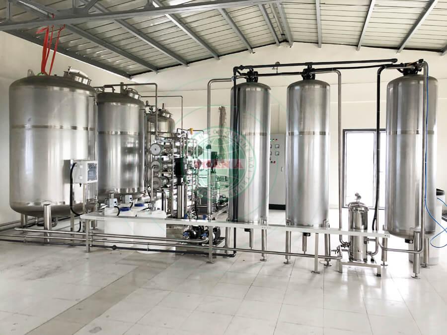 Hệ thống xử lý nước EDI ngành dược phẩm 2000L/h
