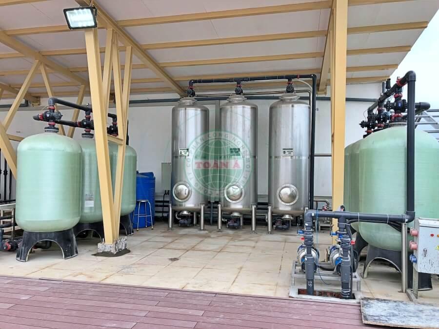 Hệ thống xử lý nước RO cho Khách sạn GOlden bay- Đà Nẵng 30000L/h