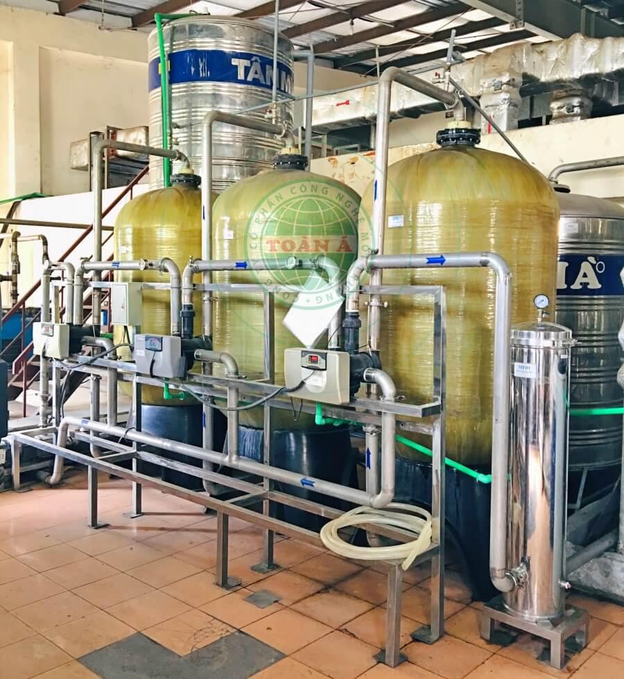 Xử lý nước RO cho dược phẩm Traphaco 4m3/h
