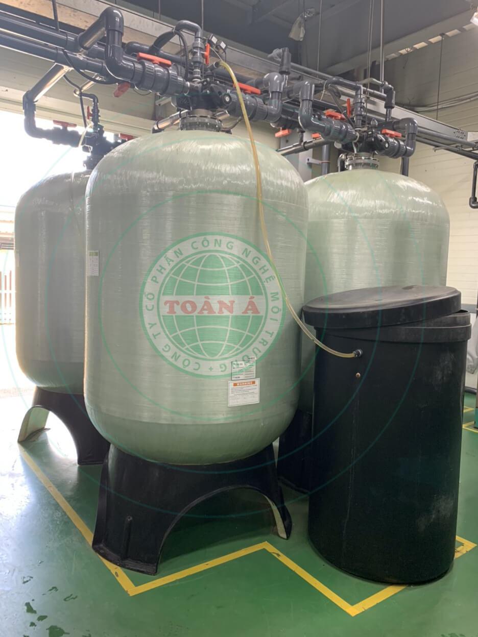 Hệ thống xử lý nước DI sản xuất chất bán dẫn 80m3/h