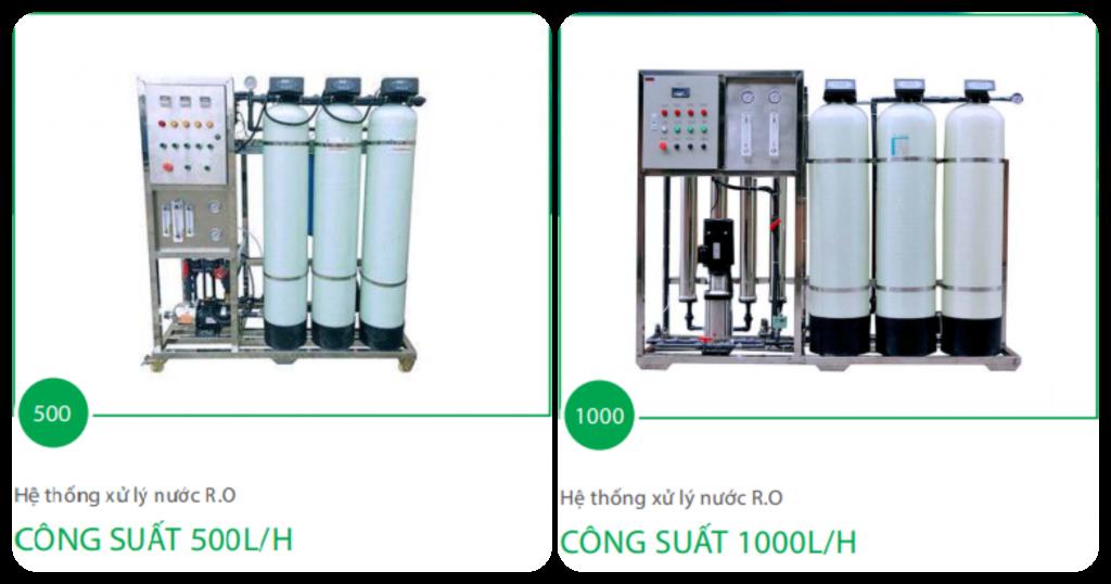 Hệ thống lọc nước tinh khiết RO