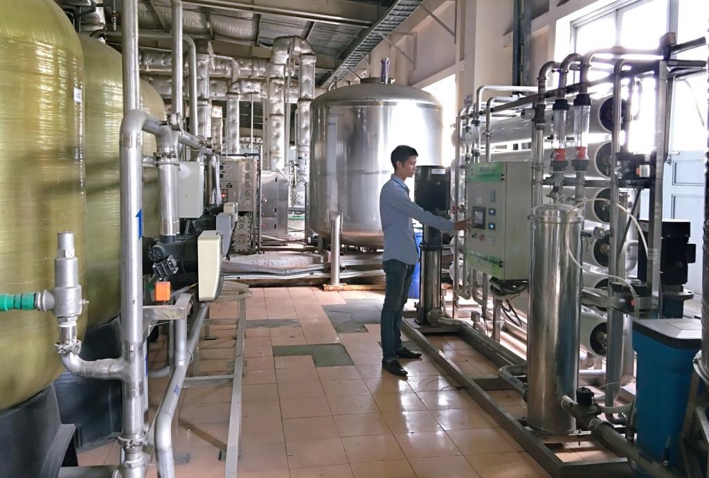 Hệ thống lọc nước RO cho công ty Dược phẩm