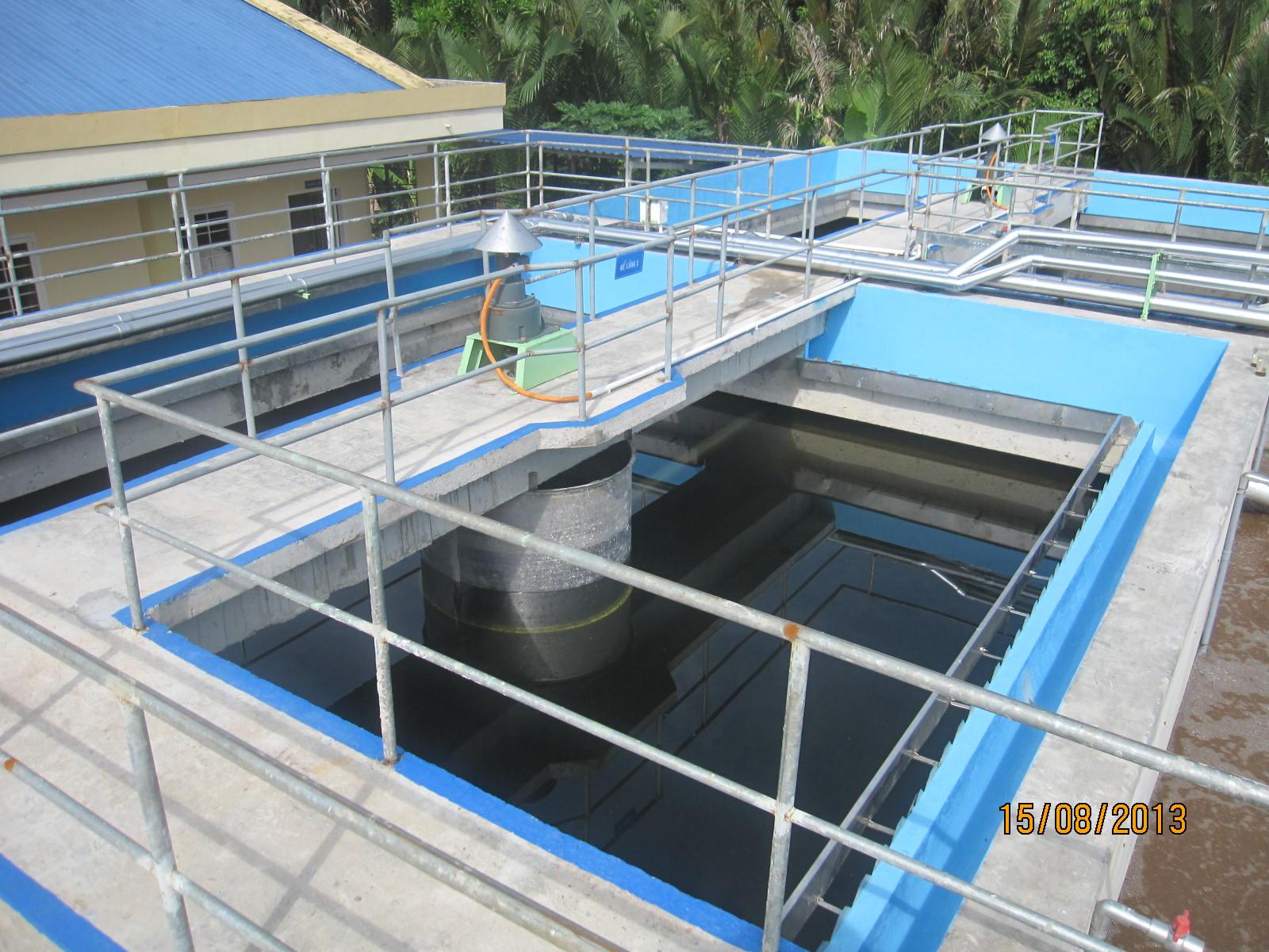 10 loại bể thường dùng trong hệ thống xử lý nước thải công nghiệp