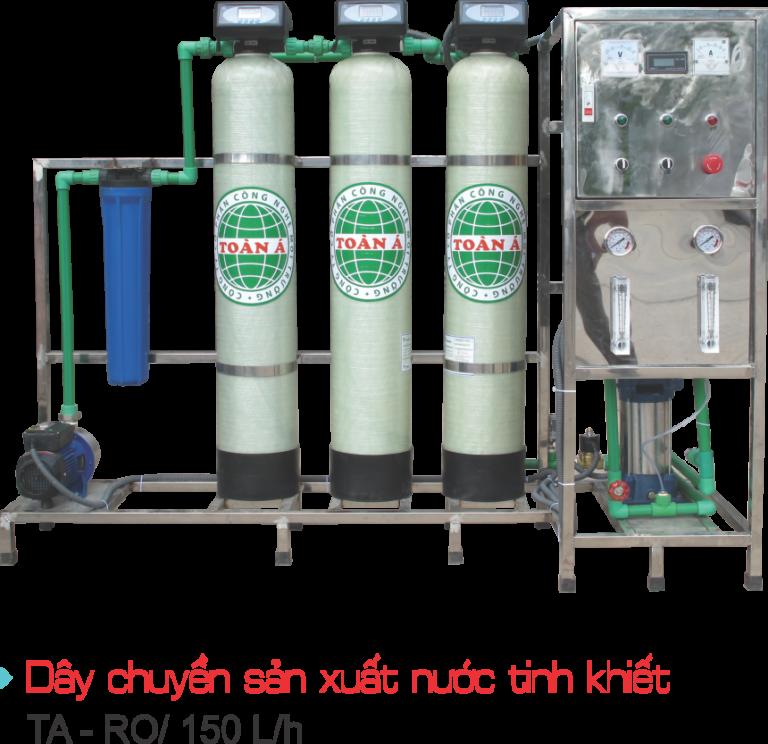 Mua dây chuyền lọc nước công suất 150l/h