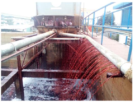 Nước thải ngành dệt nhuộm rất ô nhiễm
