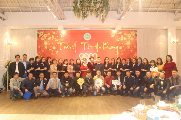CTY Môi Trường Toàn Á tổ chức tiệc tất niên năm 2019