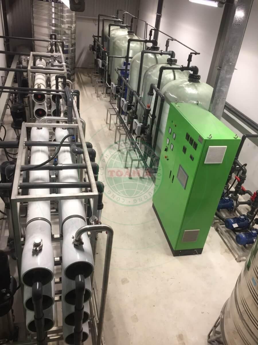 Hệ thống xử lý nước khử ion 10m3/h