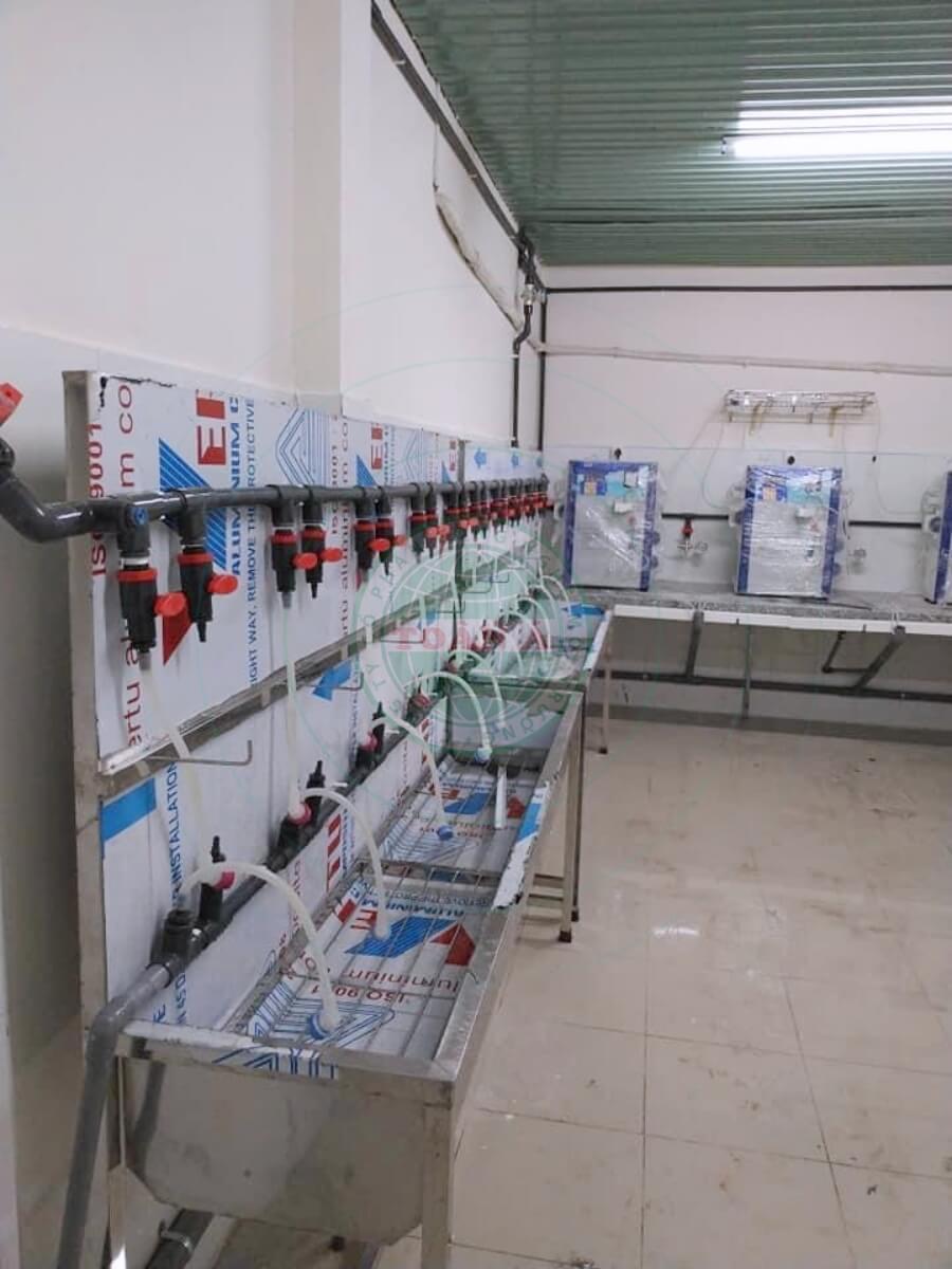 Hệ thống xử lý nước RO 1500L cho bệnh viện - y tế