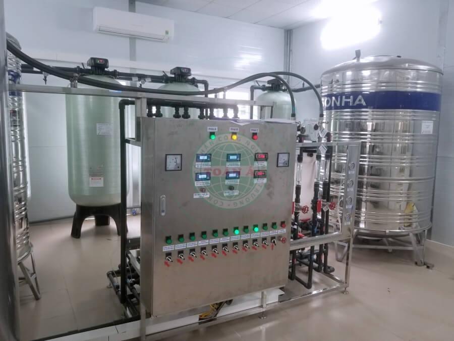 Hệ thống xử lý nước RO 2000L/h - Bệnh viện đa khoa tỉnh quảng ninh